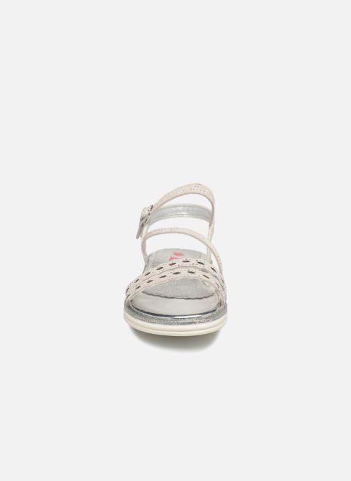 Sandales et nu-pieds ASSO Ivana Gris vue portées chaussures