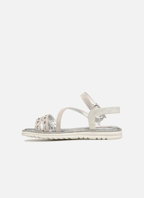 Sandals ASSO Ivana Grey front view