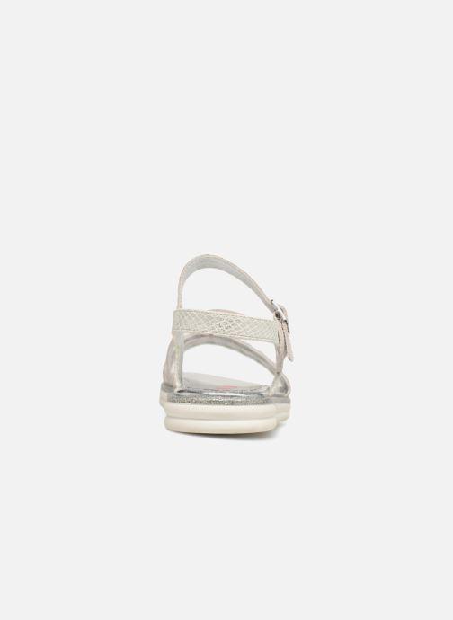 Sandales et nu-pieds ASSO Ivana Gris vue droite