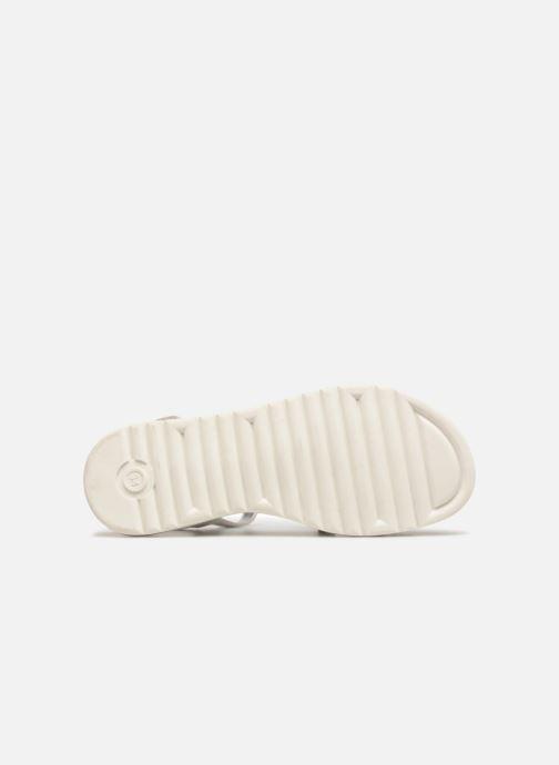 Sandales et nu-pieds ASSO Ivana Gris vue haut