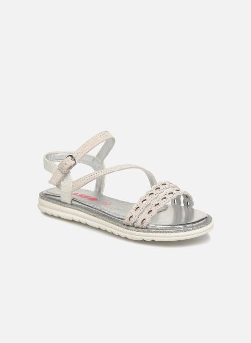 Sandals ASSO Ivana Grey detailed view/ Pair view