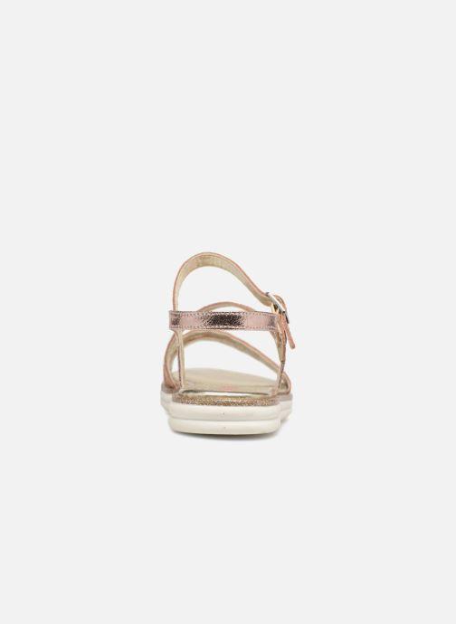 Sandales et nu-pieds ASSO Ivana Rose vue droite