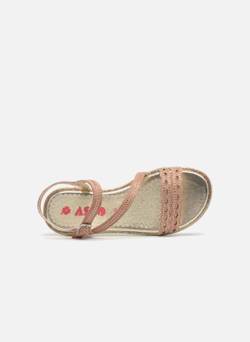 Sandales et nu-pieds ASSO Ivana Rose vue gauche