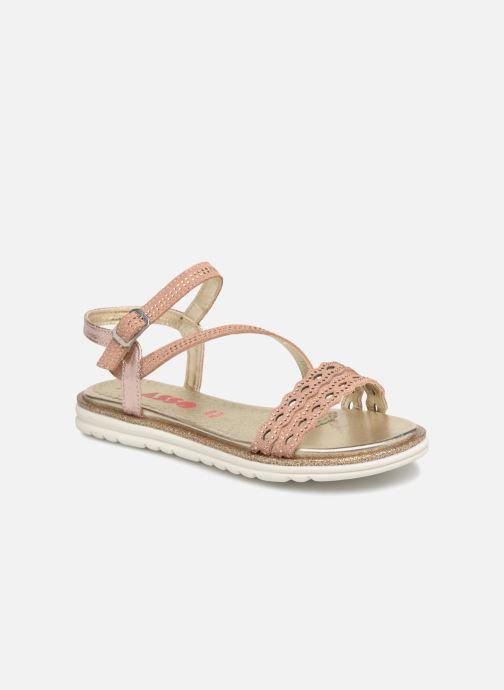 Sandales et nu-pieds ASSO Ivana Rose vue détail/paire
