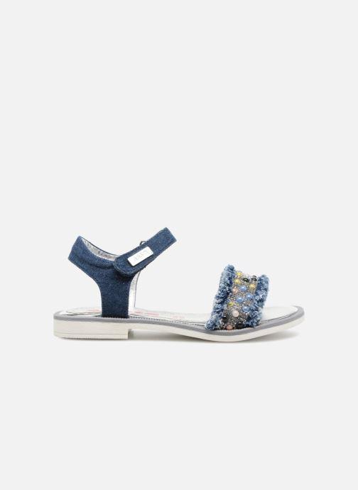 Sandales et nu-pieds ASSO Eva Bleu vue derrière