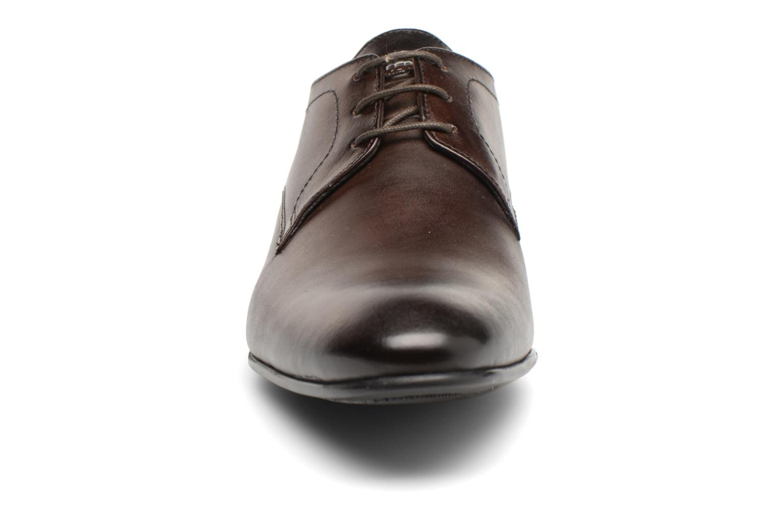 Lace-up shoes Base London Elgar Brown model view