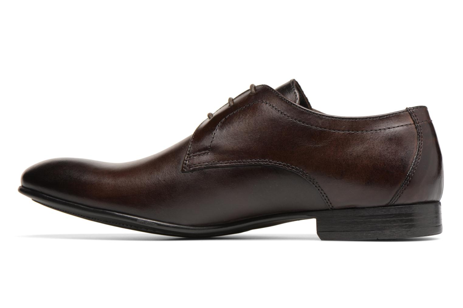 Lace-up shoes Base London Elgar Brown front view