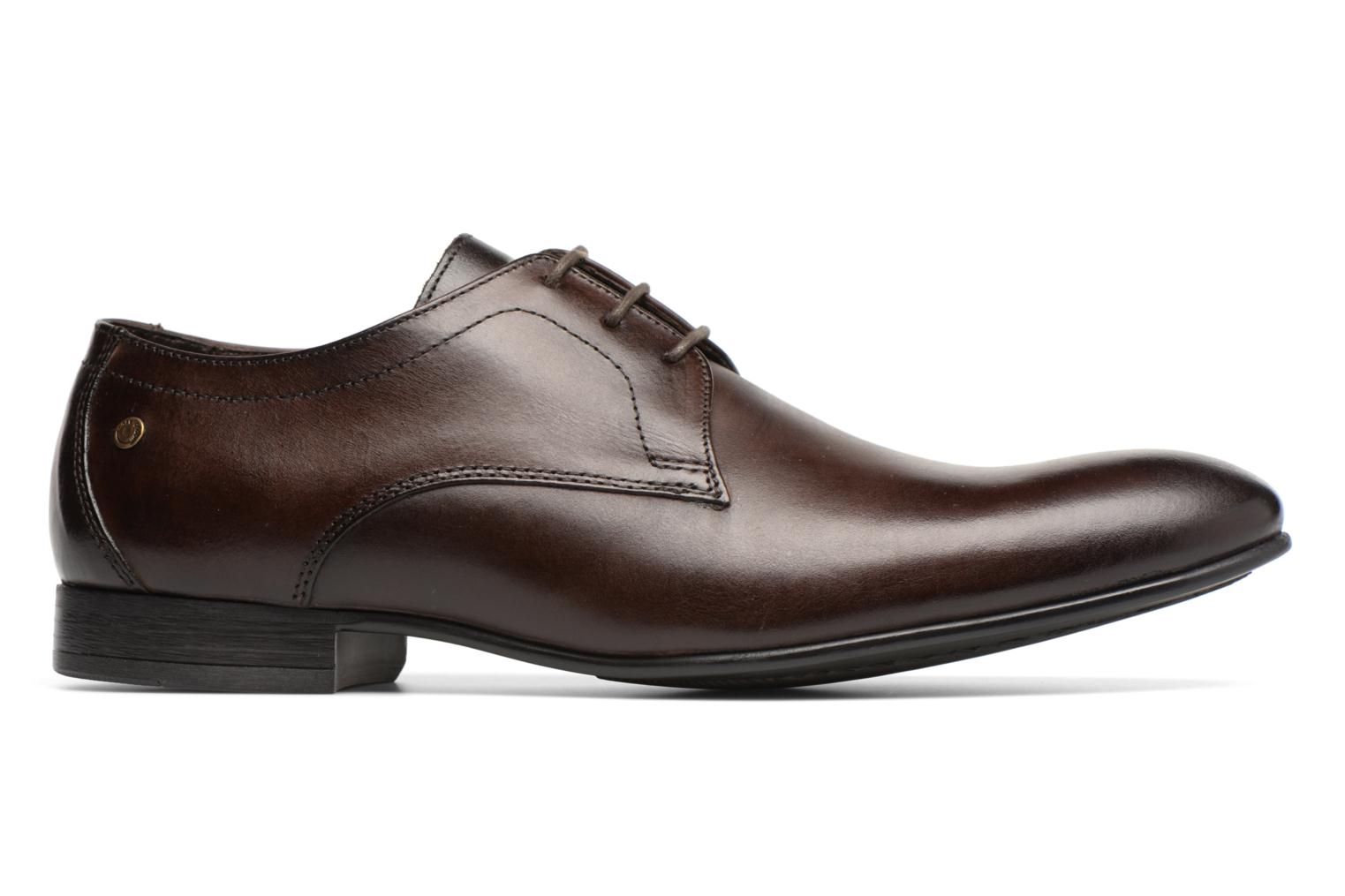 Lace-up shoes Base London Elgar Brown back view