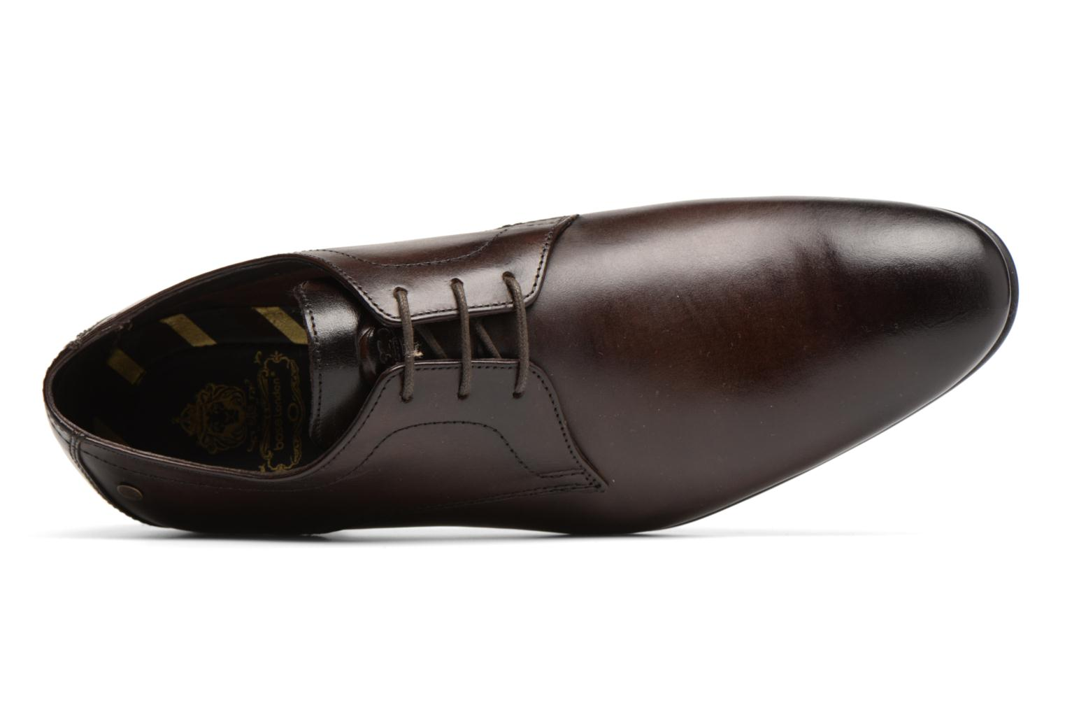 Lace-up shoes Base London Elgar Brown view from the left