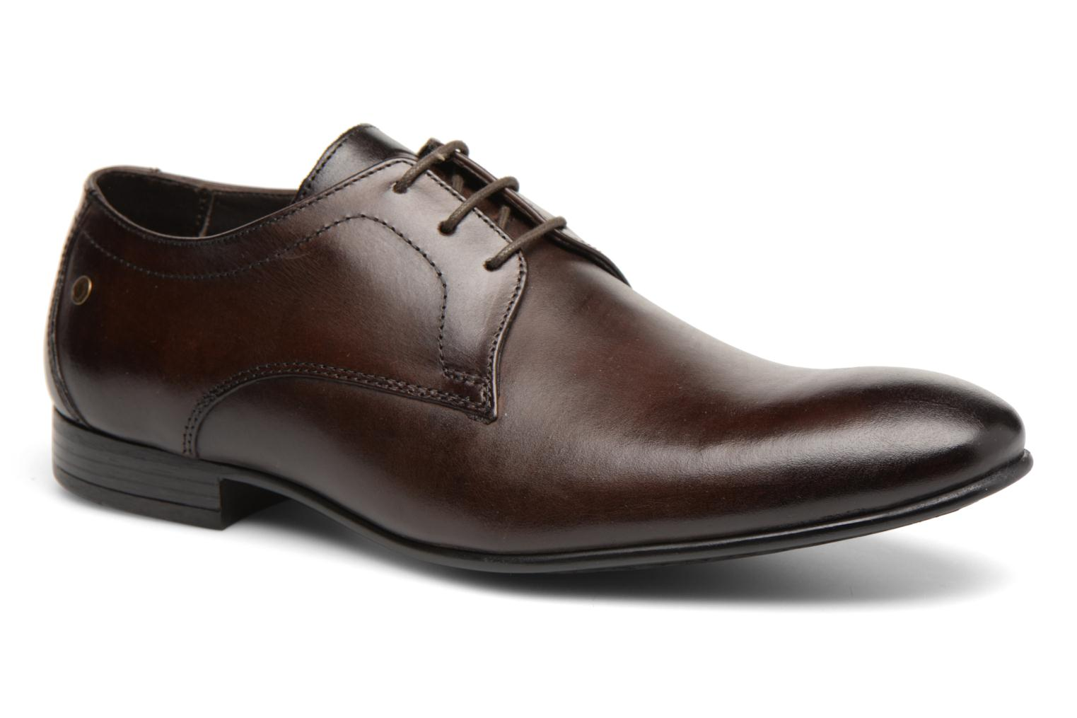 Lace-up shoes Base London Elgar Brown detailed view/ Pair view