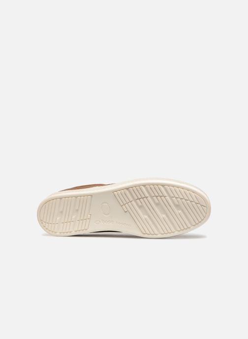 Sneakers Base London Keel Bruin boven