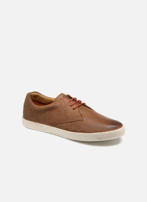 Sneakers Base London Keel Bruin detail