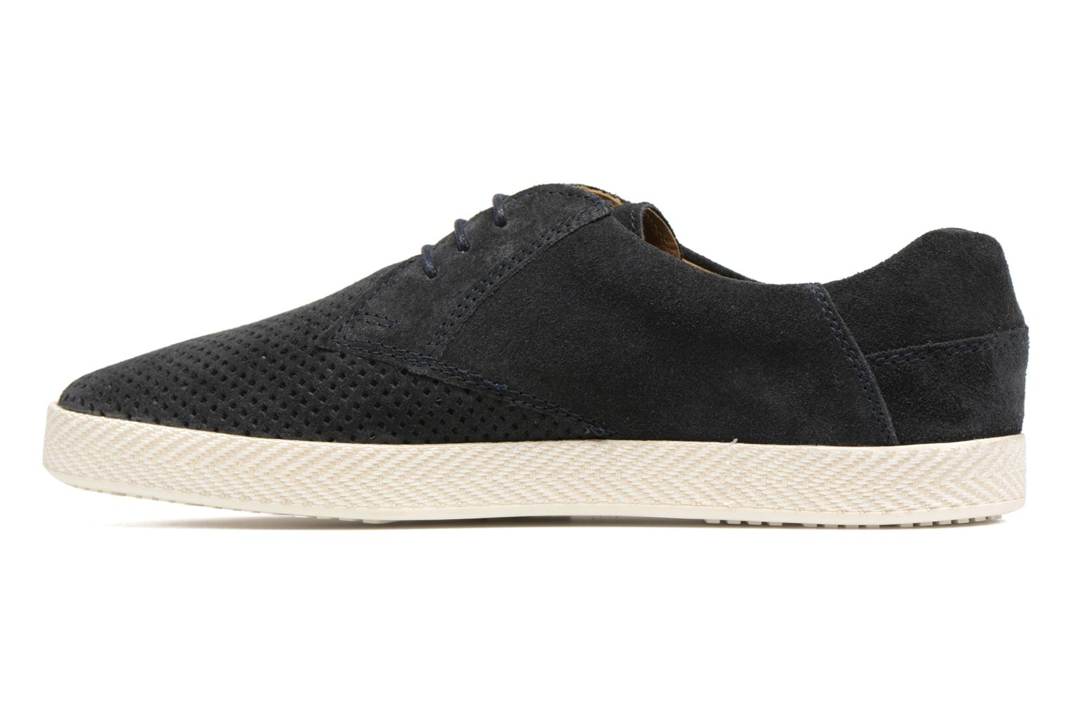 Trainers Base London Keel Blue front view
