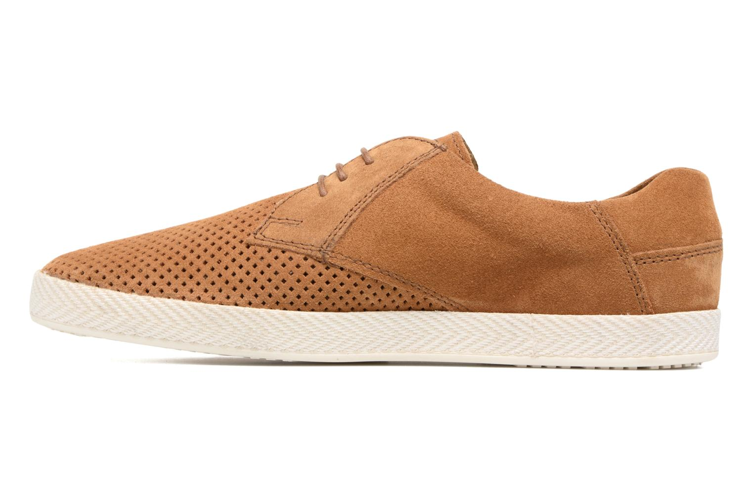 Trainers Base London Keel Brown front view