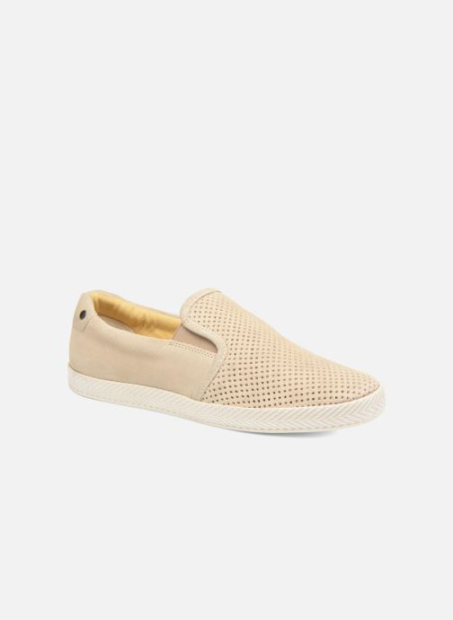 Loafers Base London Clipper Beige detaljeret billede af skoene