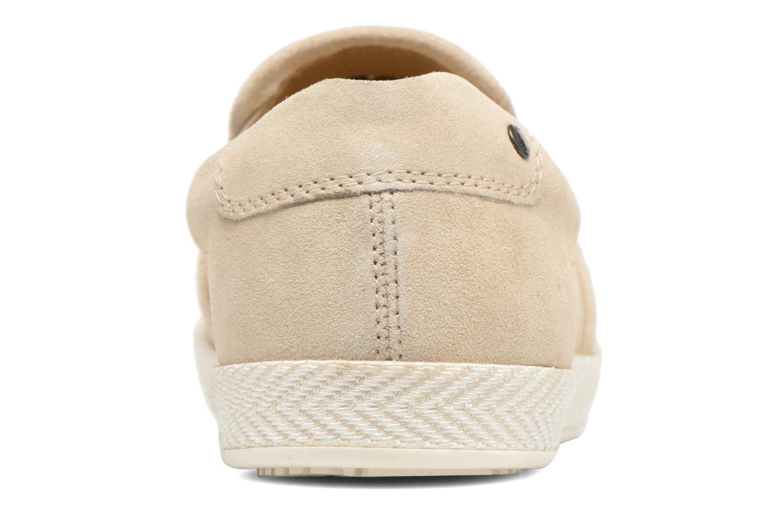 Loafers Base London Clipper Beige view from the right
