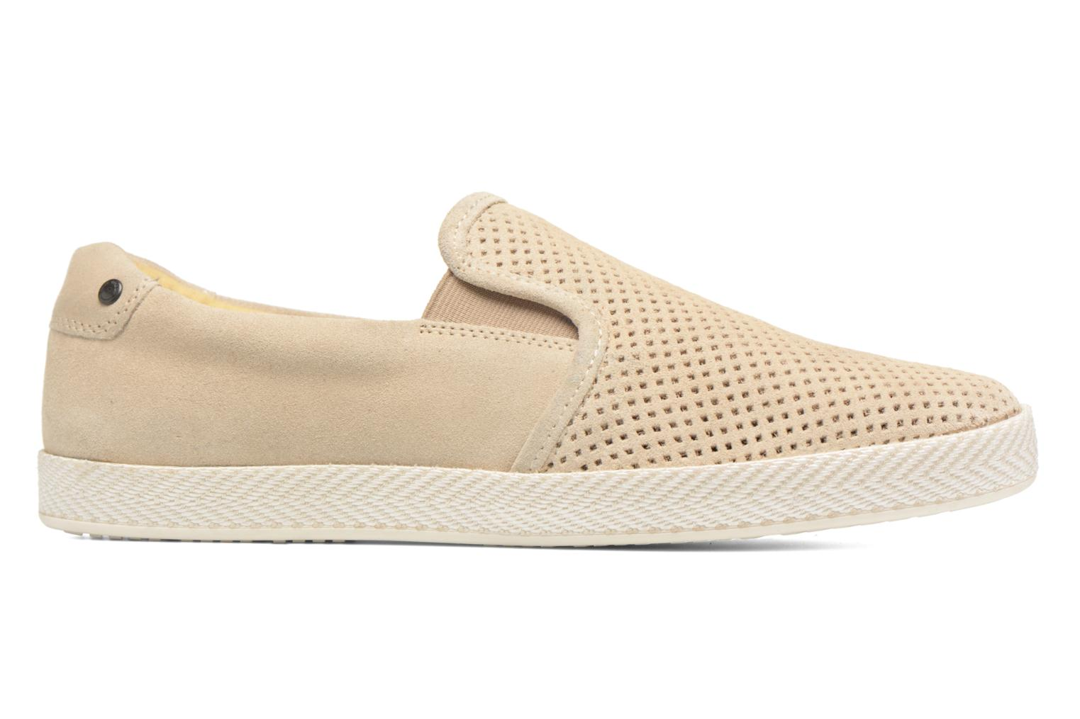 Loafers Base London Clipper Beige back view