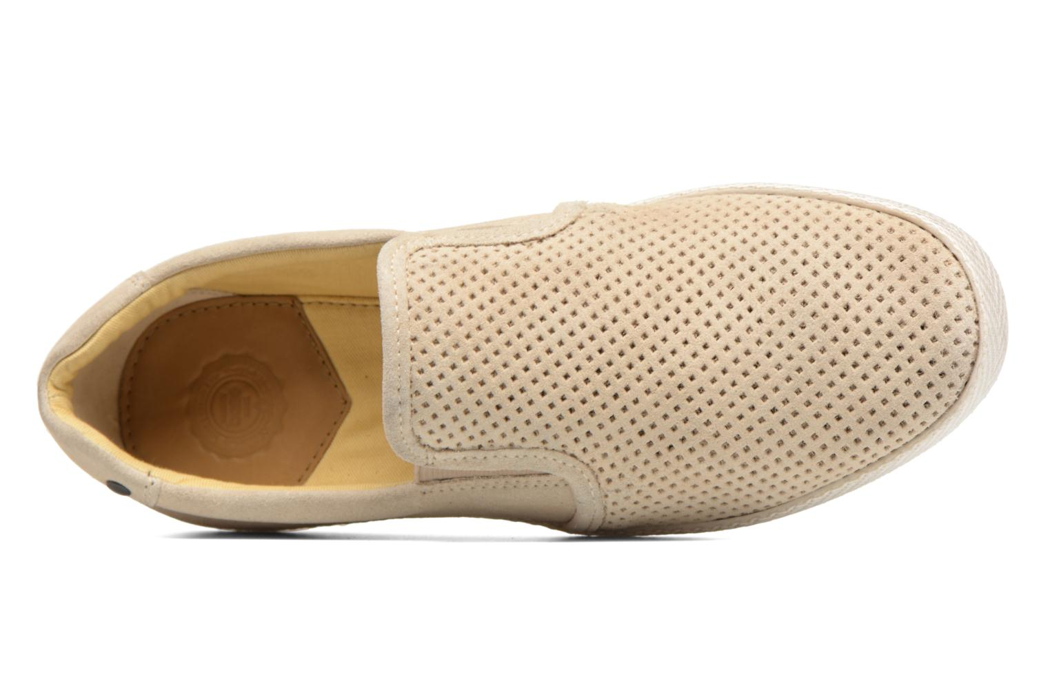 Loafers Base London Clipper Beige view from the left