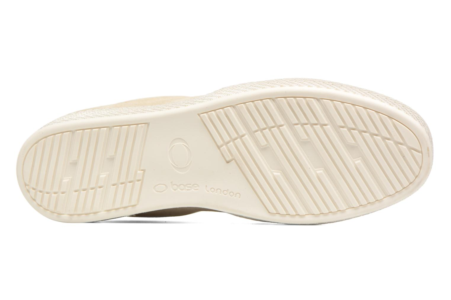 Loafers Base London Clipper Beige view from above