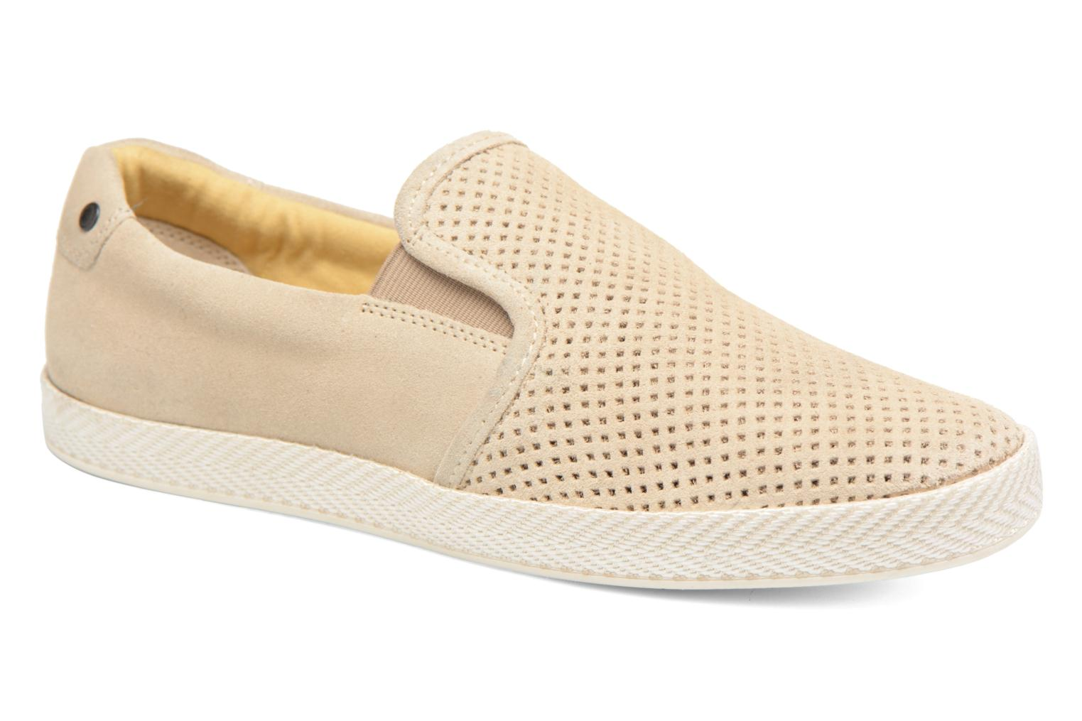 Loafers Base London Clipper Beige detailed view/ Pair view