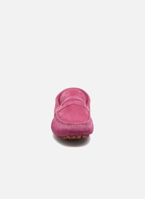Base Morgan Suede London Pink Mocassins N0y8wOvmPn