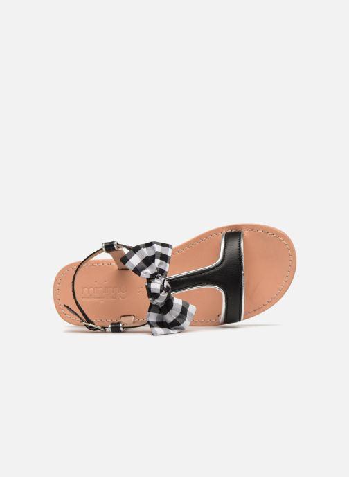 Sandales et nu-pieds Mellow Yellow Mndallydolly Noir vue gauche