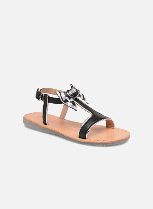 Sandales et nu-pieds Mellow Yellow Mndallydolly Noir vue détail/paire