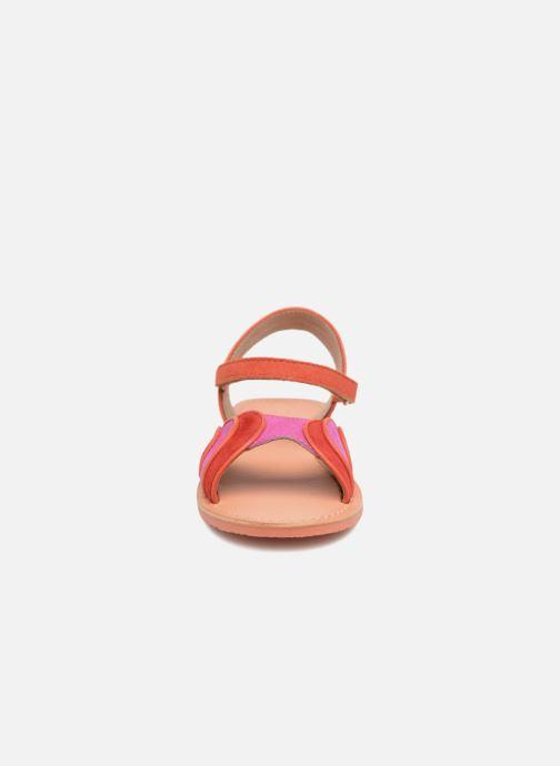 Sandales et nu-pieds Mellow Yellow Mndadyl Rouge vue portées chaussures