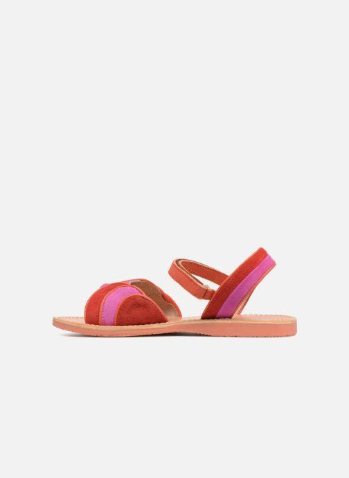 Sandales et nu-pieds Mellow Yellow Mndadyl Rouge vue face