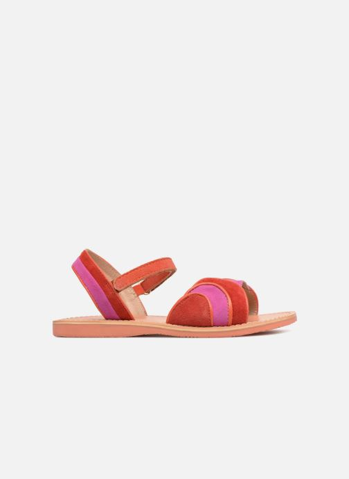 Sandales et nu-pieds Mellow Yellow Mndadyl Rouge vue derrière