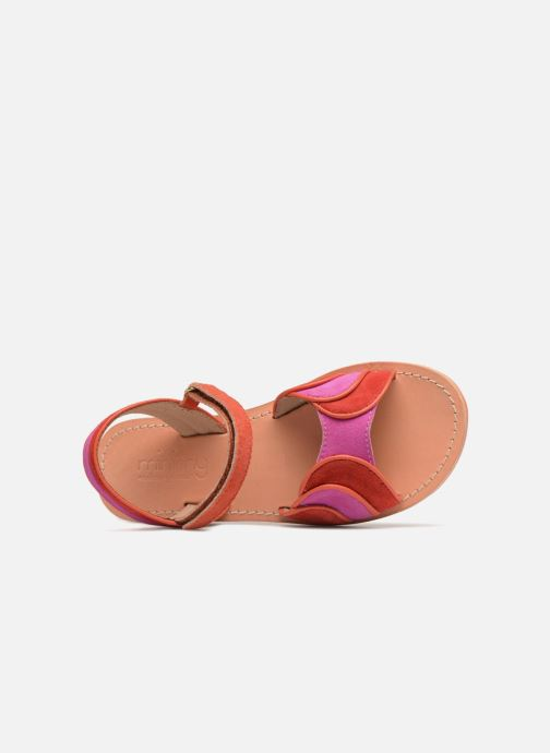Sandales et nu-pieds Mellow Yellow Mndadyl Rouge vue gauche