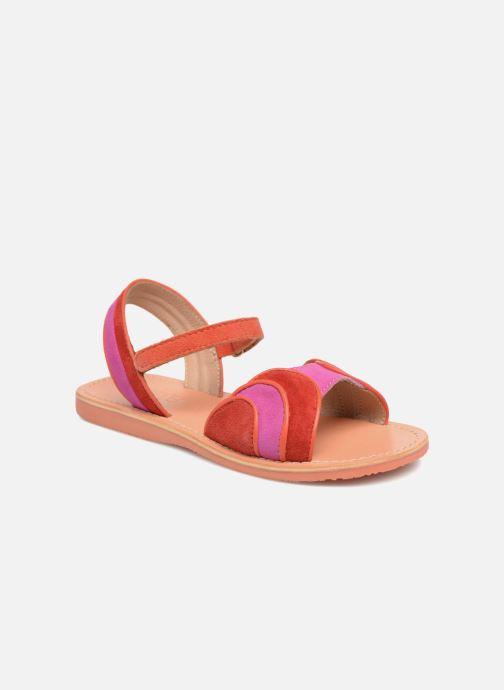 Sandales et nu-pieds Mellow Yellow Mndadyl Rouge vue détail/paire