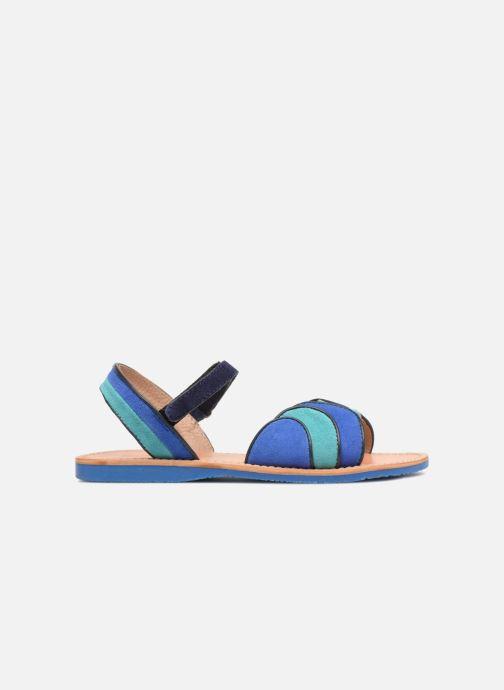 Sandales et nu-pieds Mellow Yellow Mndadyl Bleu vue derrière