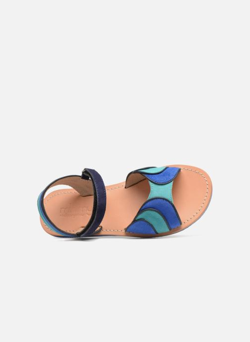 Sandales et nu-pieds Mellow Yellow Mndadyl Bleu vue gauche