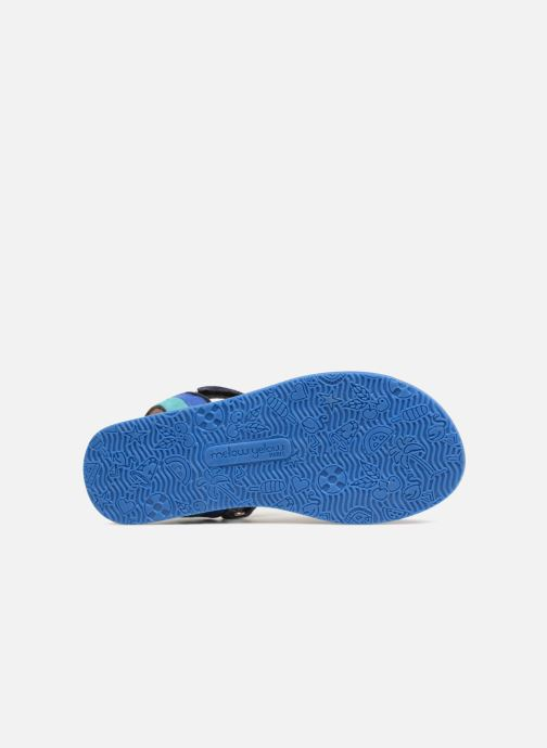 Sandales et nu-pieds Mellow Yellow Mndadyl Bleu vue haut
