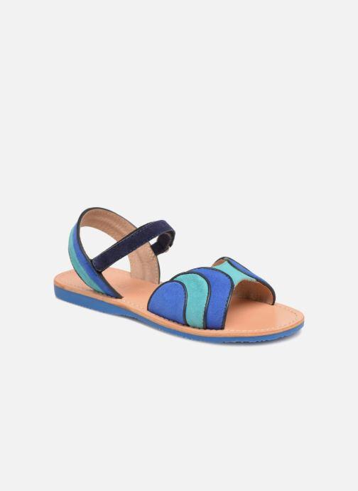 Sandales et nu-pieds Mellow Yellow Mndadyl Bleu vue détail/paire