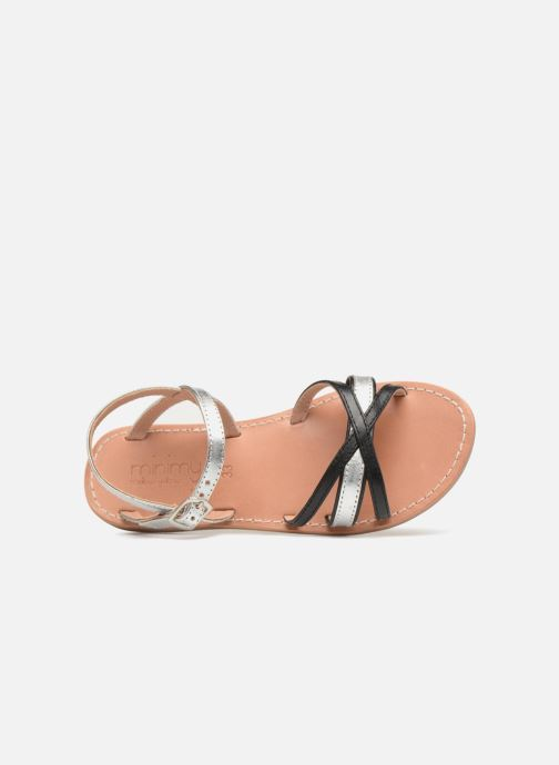 Sandalen Mellow Yellow Mndalya Zwart links