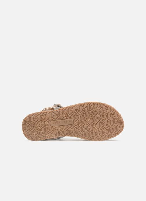 Sandales et nu-pieds Mellow Yellow Mndalya Noir vue haut
