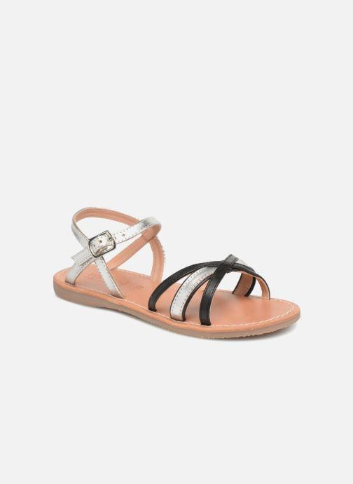 Sandales et nu-pieds Mellow Yellow Mndalya Noir vue détail/paire