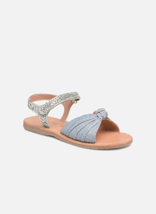 Sandales et nu-pieds Mellow Yellow Mndadenise Bleu vue détail/paire