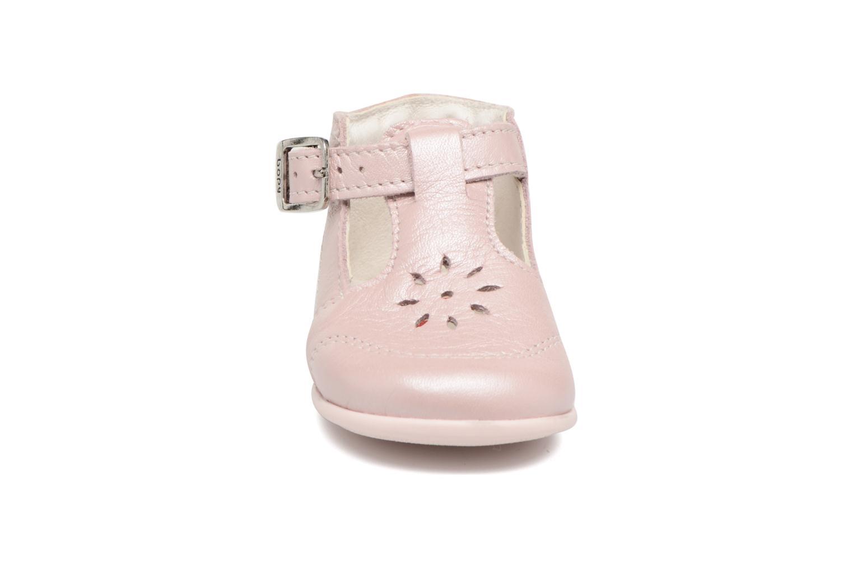 Ballerines Bopy Poum Rose vue portées chaussures