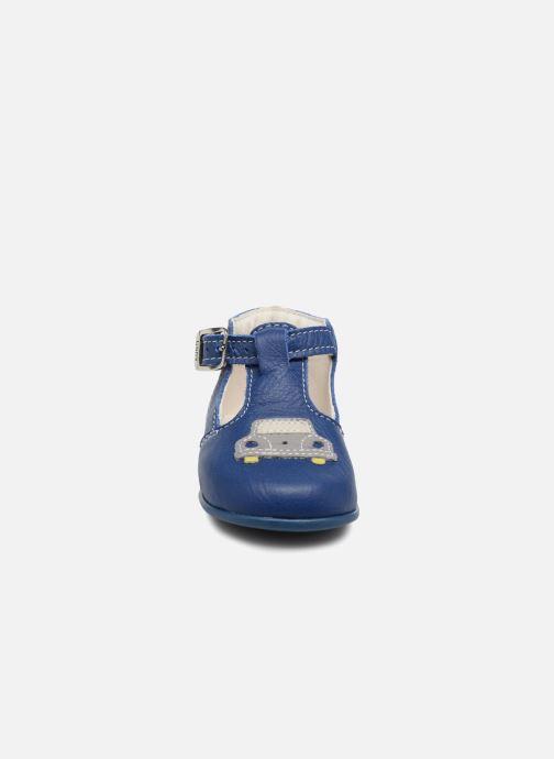 Bottines d'été Bopy Pneu Bleu vue portées chaussures