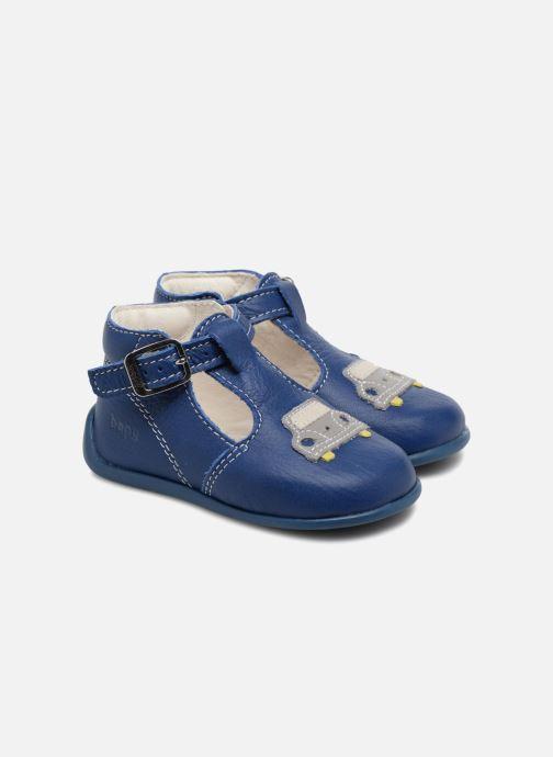 Botines de verano Bopy Pneu Azul vista de detalle / par