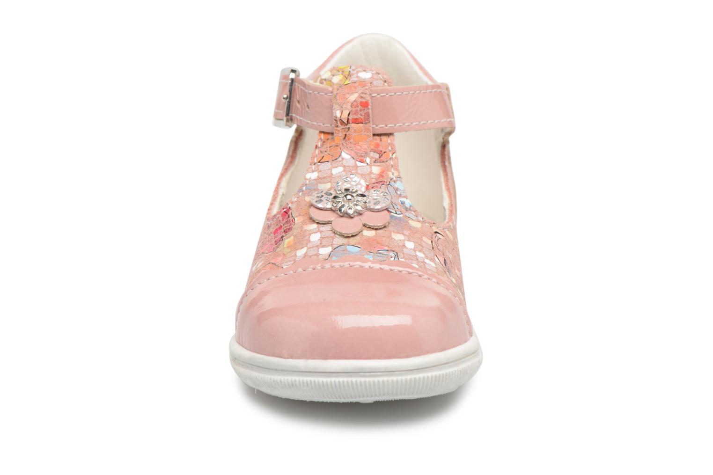 Ballerines Bopy Zulipe Rose vue portées chaussures