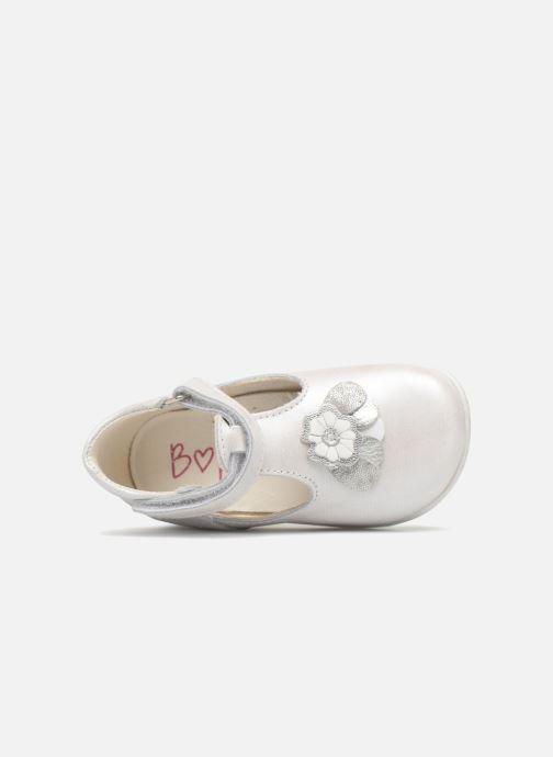 Chaussures à scratch Bopy Zora Gris vue gauche