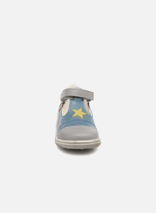 Bottines d'été Bopy Zenon 2 Gris vue portées chaussures