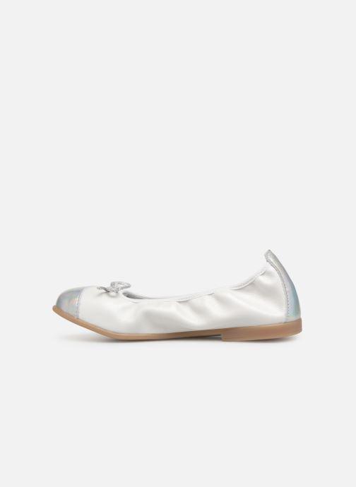 Ballerinas Bopy Sarisa weiß ansicht von vorne