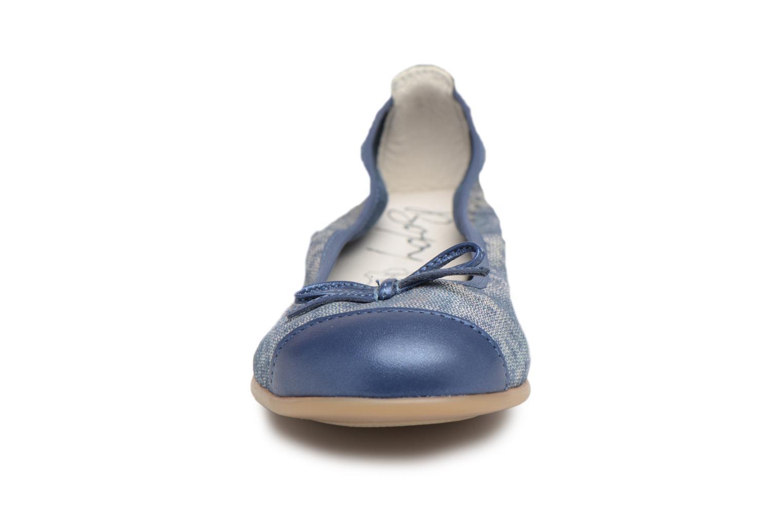Ballerines Bopy Sophie Bleu vue portées chaussures