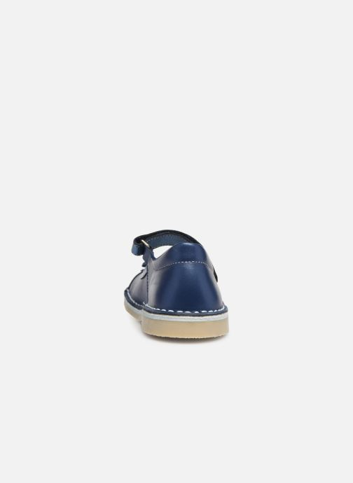 Ballet pumps Bopy Mevi Blue view from the right