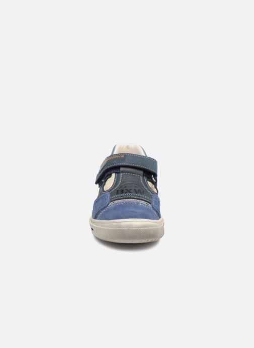 Baskets Bopy Virgil Bleu vue portées chaussures